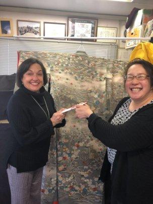 Ishinomakimono Card Profit Donation to TAMF