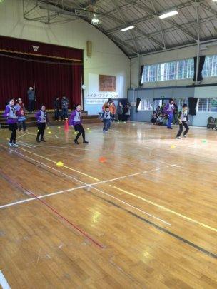 Fukushima & Ishinomaki students play Onigokko Tag