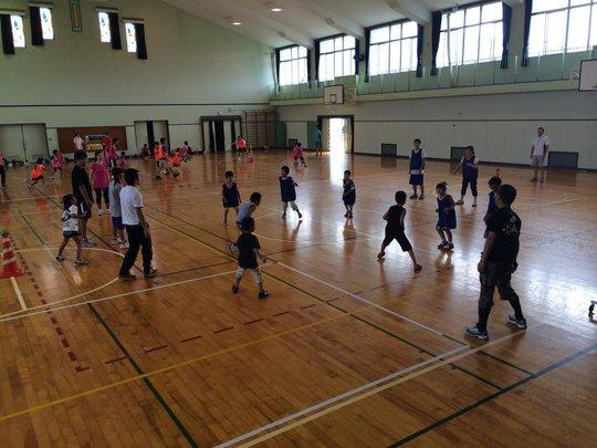 Sports Onigokko at Watanoha Elementary School