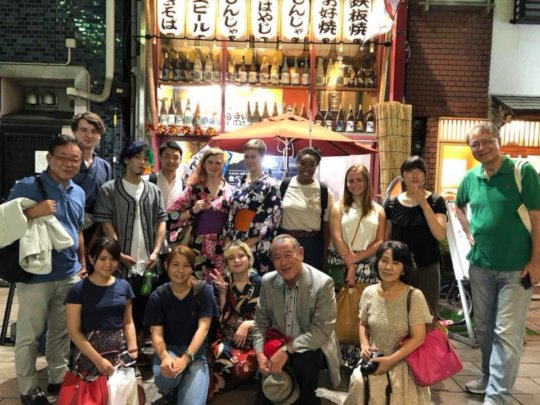 TAMF Exchange Tokyo Welcome Dinner