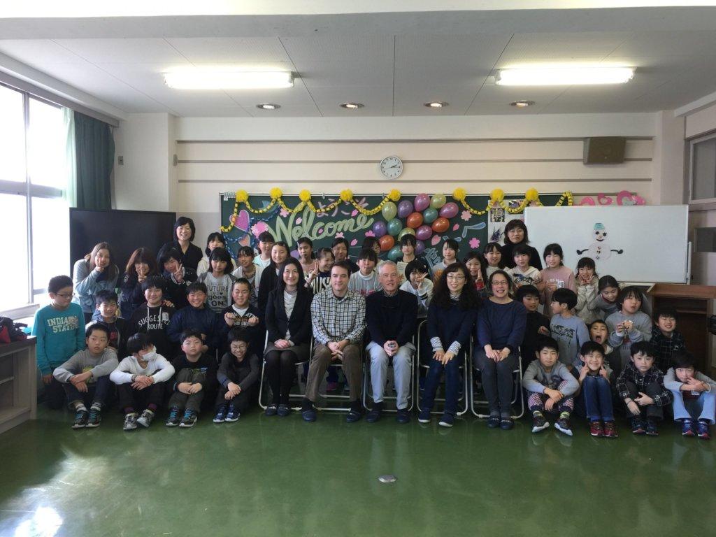 Watanoha ES 5th Grade Visit