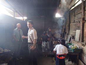 The family kitchen area