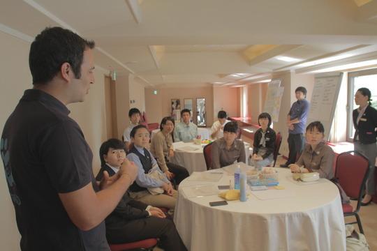 Kagikakko Crew at Tokyo Hilton Training