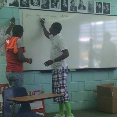 Student Teachers Teaching Future Teachers