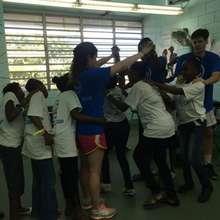 Campers and AYUDA Volunteer Camp Activities