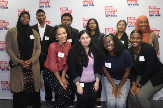 2018/19 Scholars at Welcome Reception