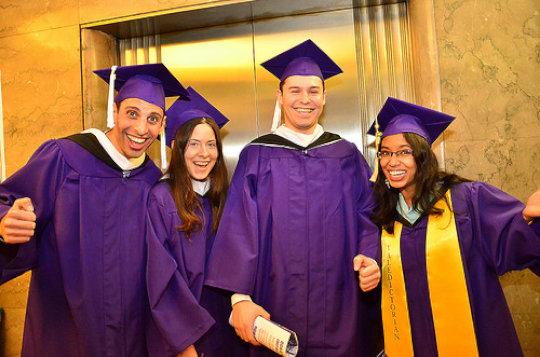 Hunter graduates