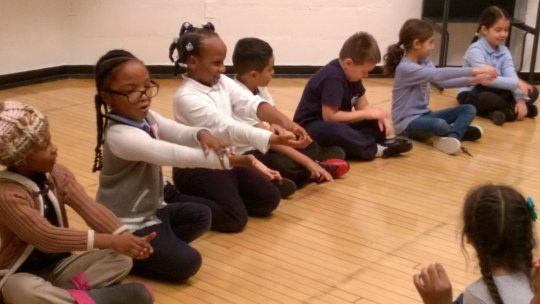 PS15 LTA 1st graders sharing a Funky Bug Song