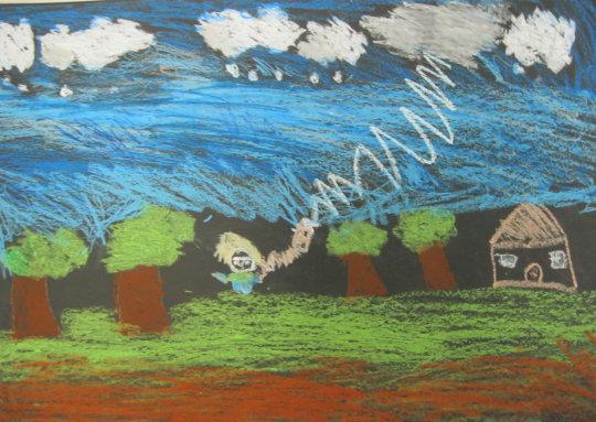 PS69, 4th grader: Benjamin Franklin & Electricity