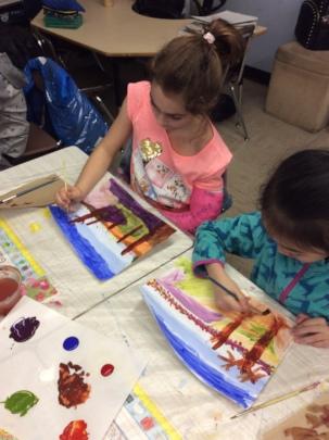 Visual Arts with 2nd graders at PS 69