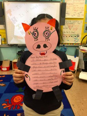 LTA's student's letter to the Big Bad Wolf
