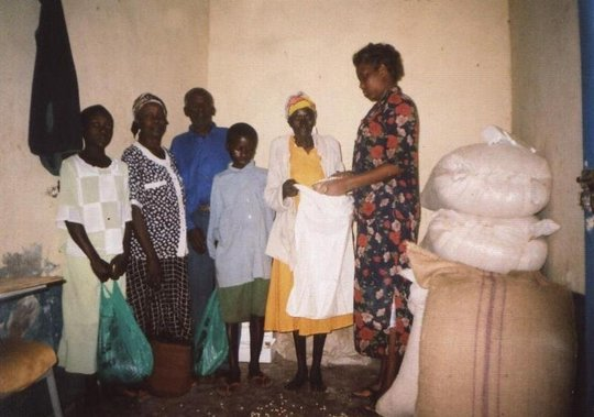 Equipping poor families with HIV/AIDS life skills