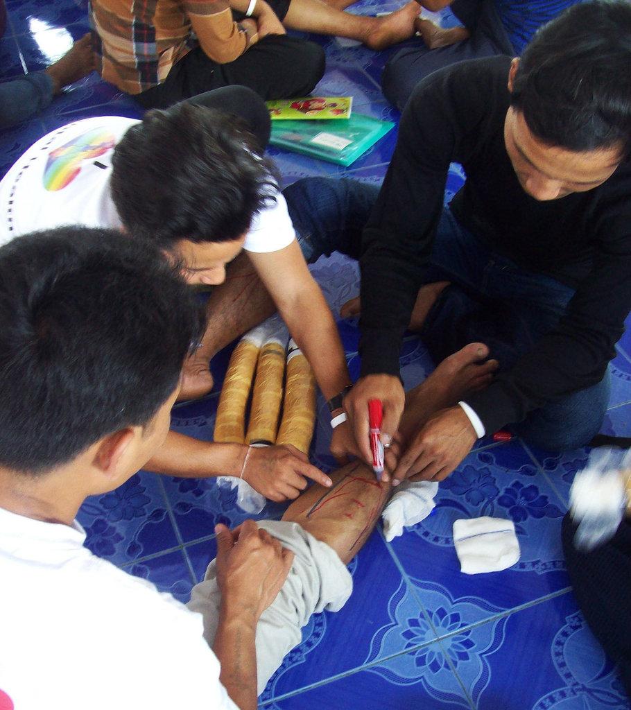 Myanmar 9-1-1: Train & Equip Emergency Medic Teams