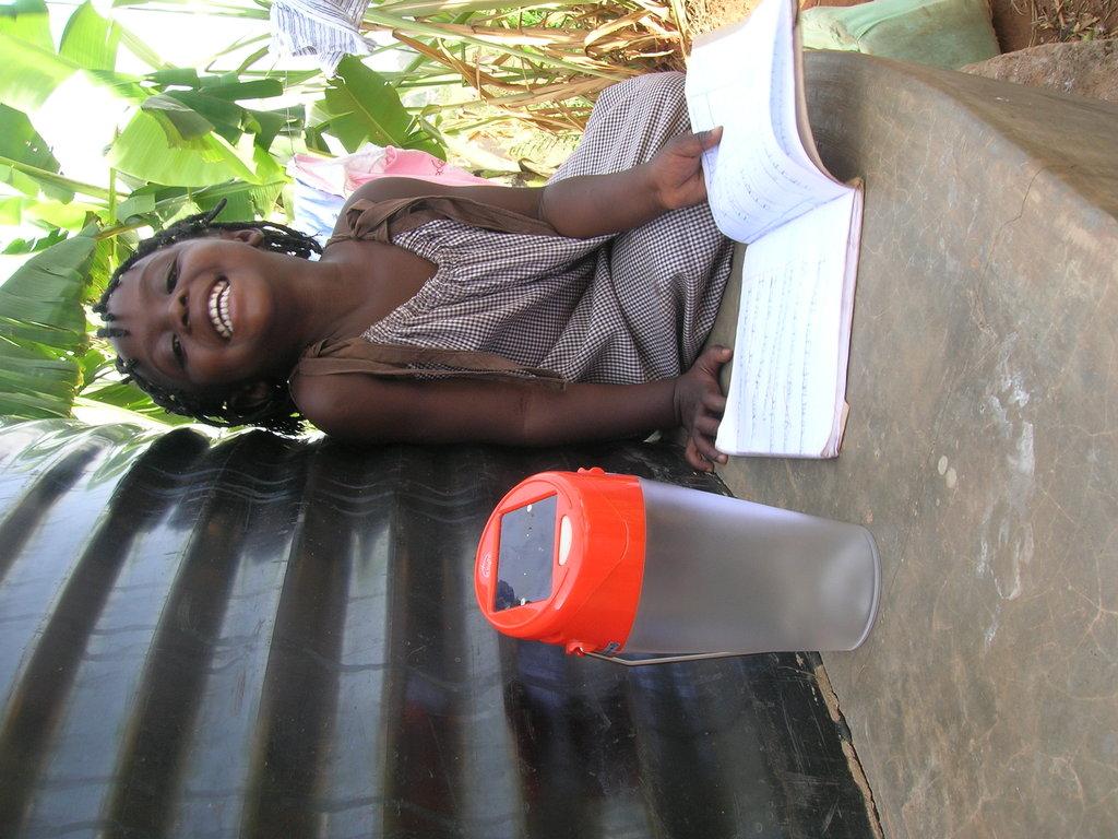 Buy Solar lamps for 100 rural children in Uganda