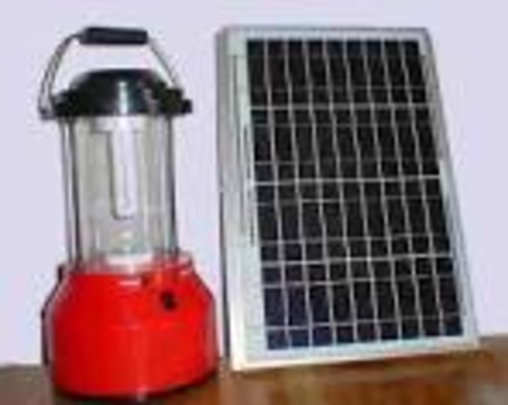 Solar lamp and pannel
