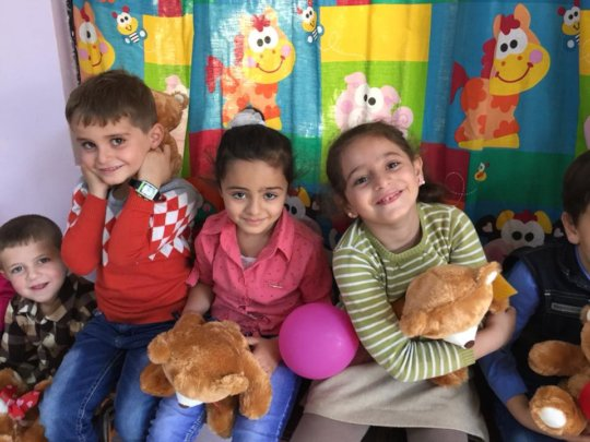 Play Therapy helps children release trauma