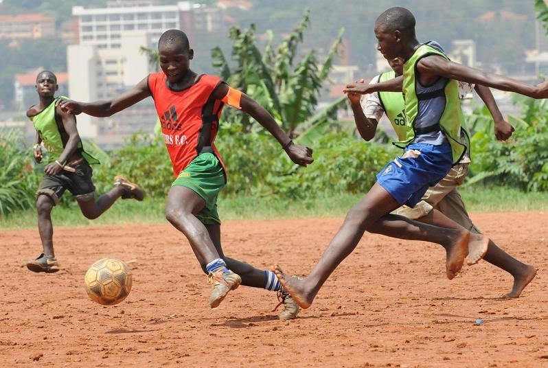 Retrak children get a chance to play