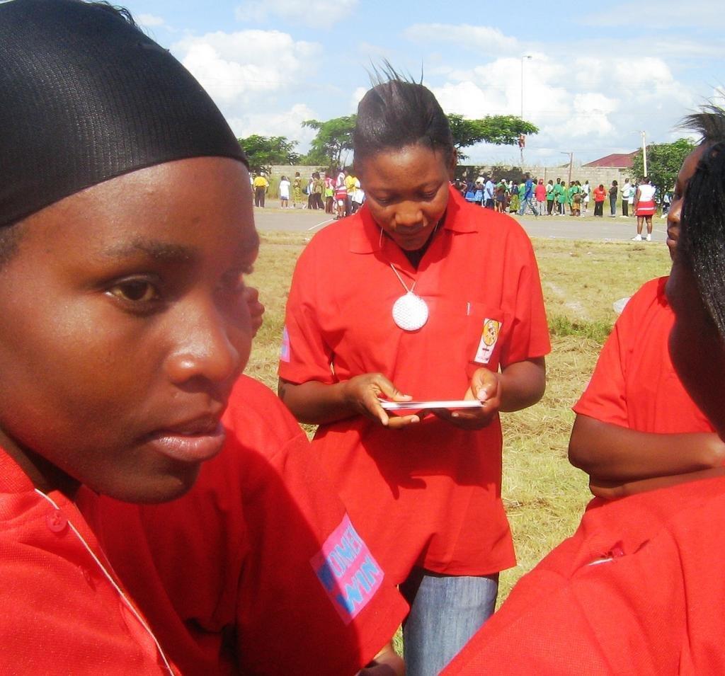 Empowering 1000 girls through Sport in Zambia