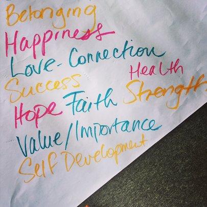 group core values