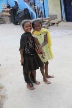 girls living in one ofBangalore's slum communities