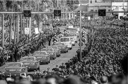 The Royal Funeral Procession to Grand Palace