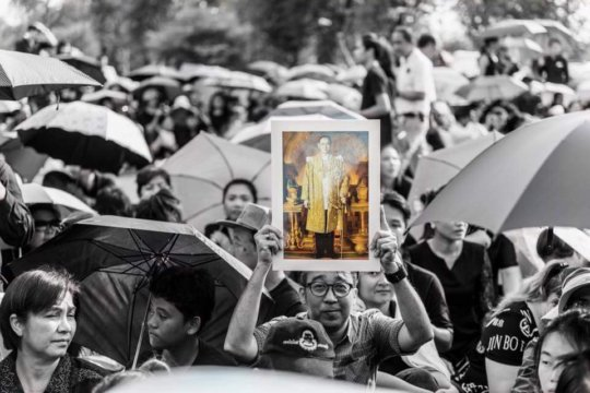 The nation mourns for beloved king
