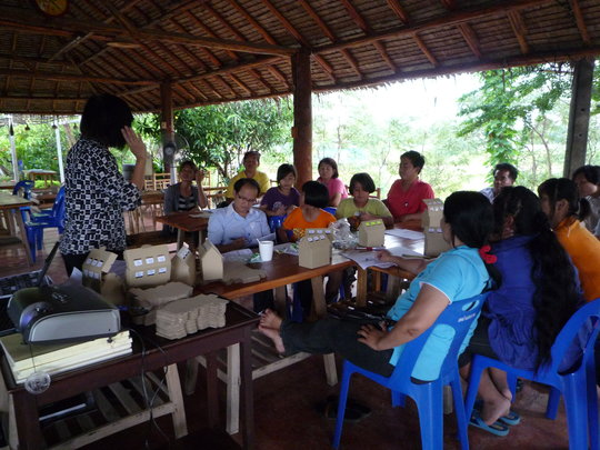 Teaching SMART Scheme to village adults