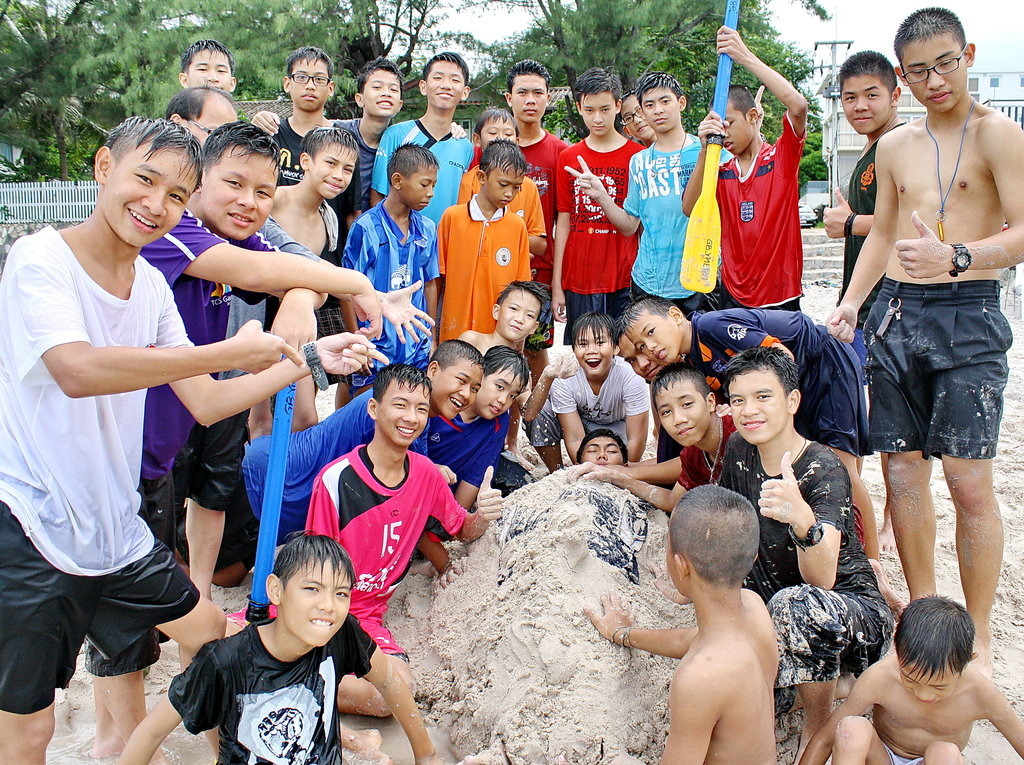 Fun at the Boys Camp