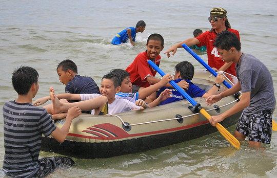 Fun in the water
