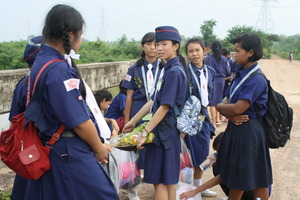 Food collected on hike to be handled with care