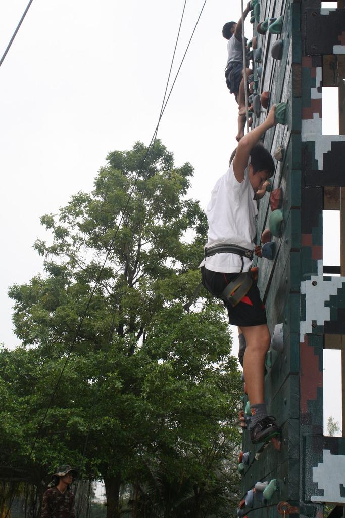 A slippery climb but I will do my best!