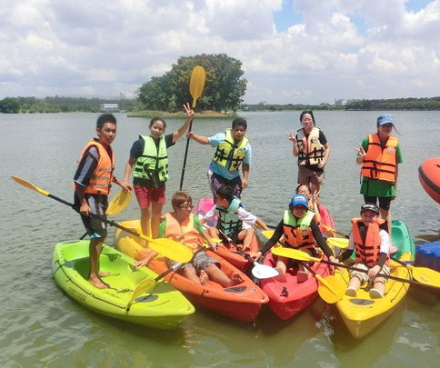 Bonding the Team with Water Sports - Kayaking