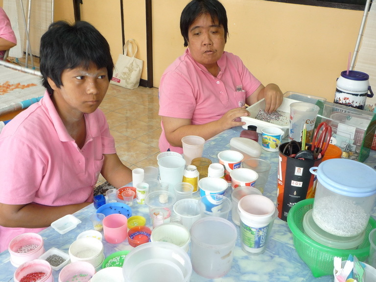 Vocational training for Disabled@Klong Toey Centre