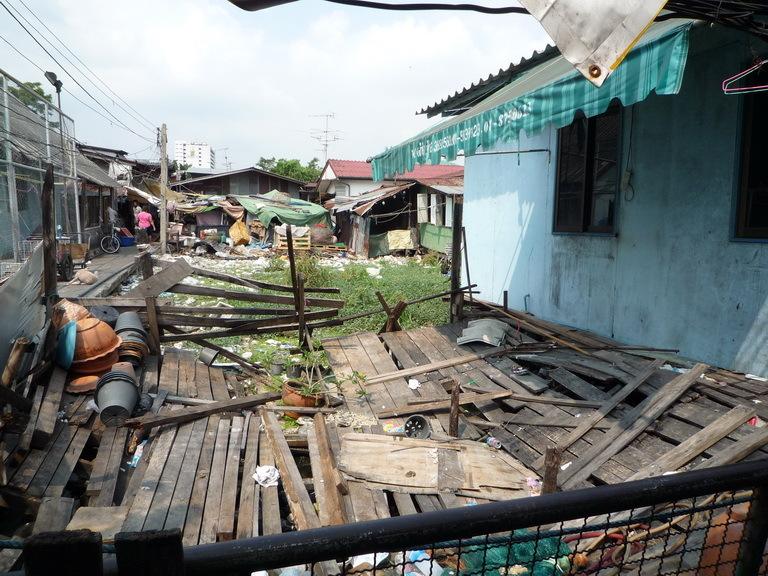 Klong Toey Slum Community