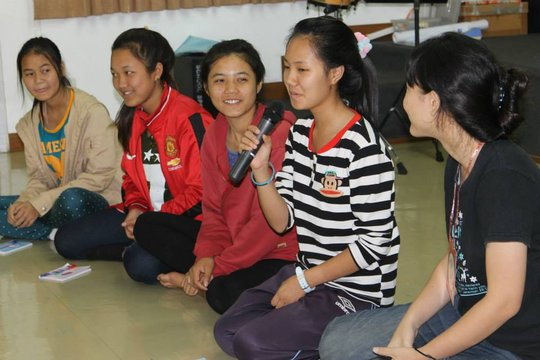 Young Leaders getting to know each other