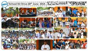 Distribution through Dell Volunteers