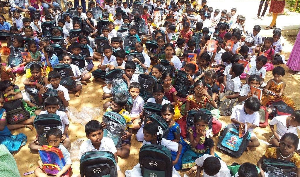 Sponsor School Kits to Underprivileged Children