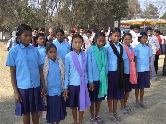 Girls saved from bonded servitude