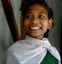 Sushila and her smile