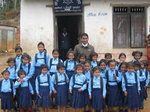 Rescues class of girls attending school
