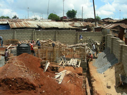 2 Clinic construction 11-5-07