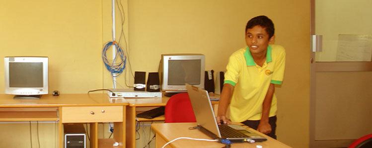 Computer skills for 100 Sri Lankan students