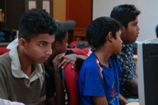 Computer skills for 100 Sri Lankan students