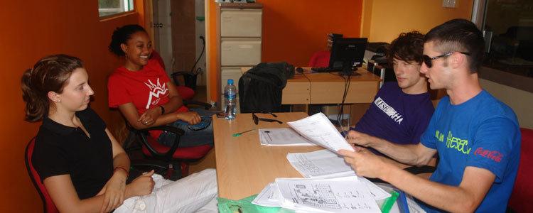 AIESEC Volunteers at Horizon Lanka
