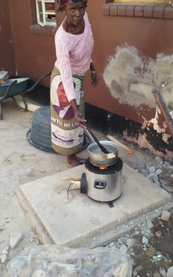 Water boils faster in this new stove