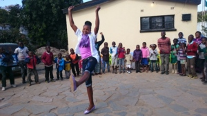 Learning while dancing