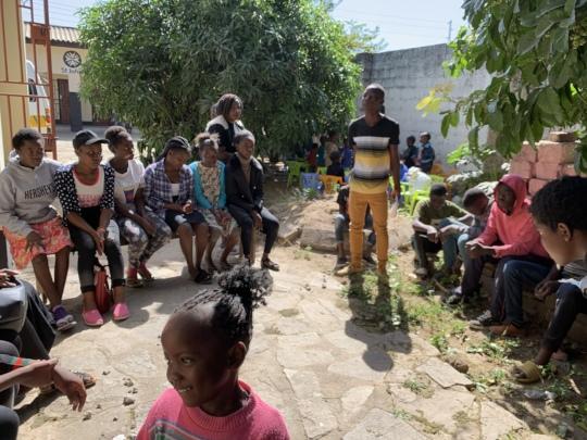 Playing a Zambian game
