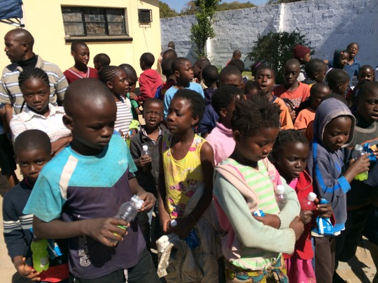 Safe parks for children impacted by HIV in Zambia