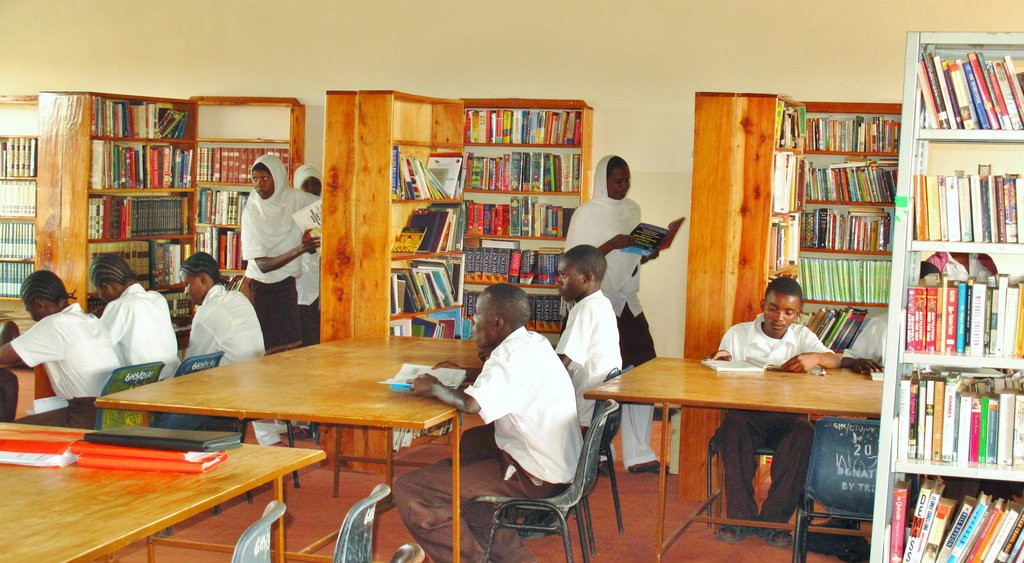 Mobile Library for Rural Kenyan Youths