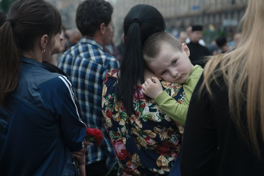 """On behalf of the """"Maidan Family"""": we thank you all"""